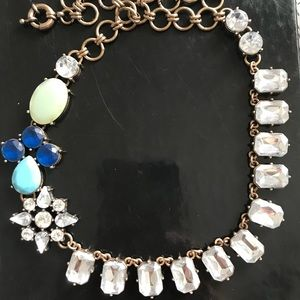 Like j crew crystal statement necklace